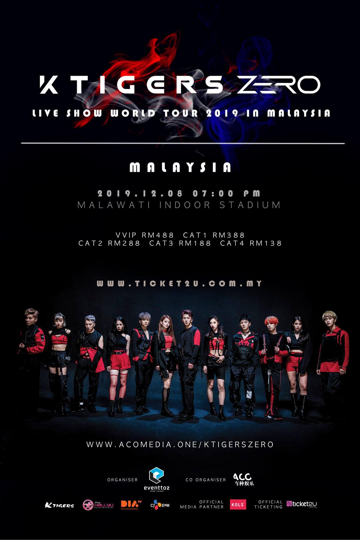 KTIGERS ZERO LIVE SHOW WORLD TOUR 2019 in Malaysia